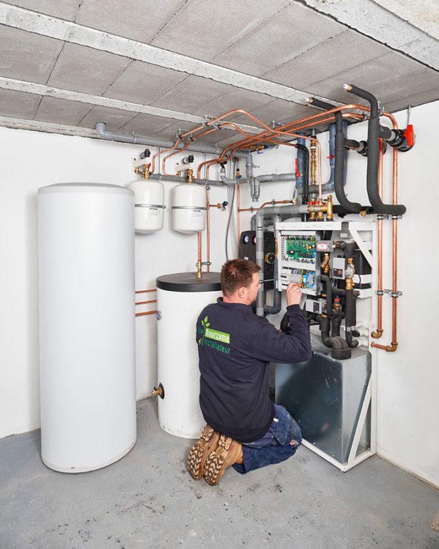 Uw Duurzame Installateur / Kadiks Warmtepomp installatie