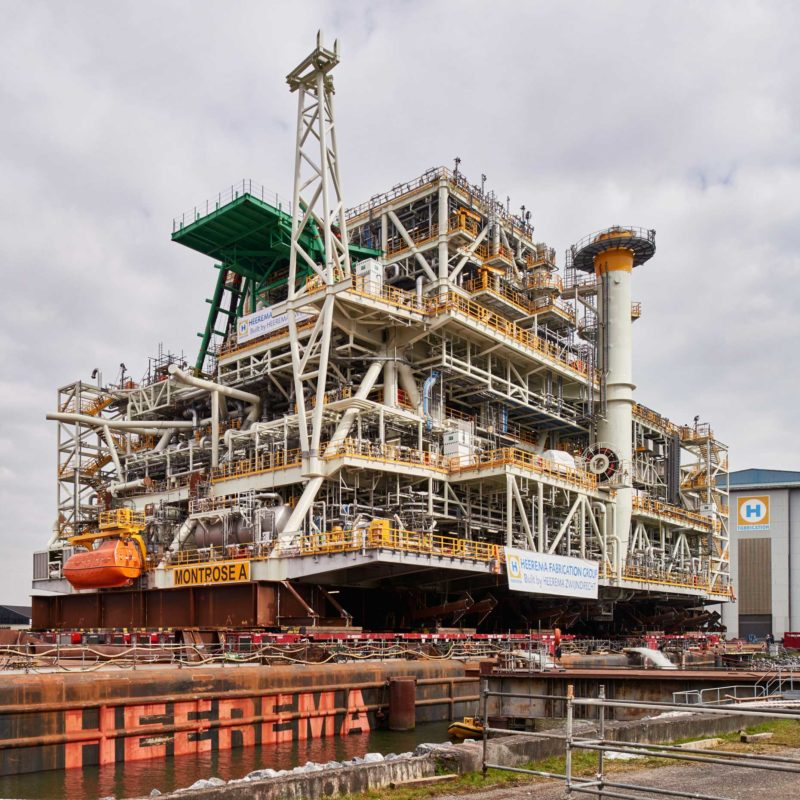 Heerema Fabrication Group - Montrose load out