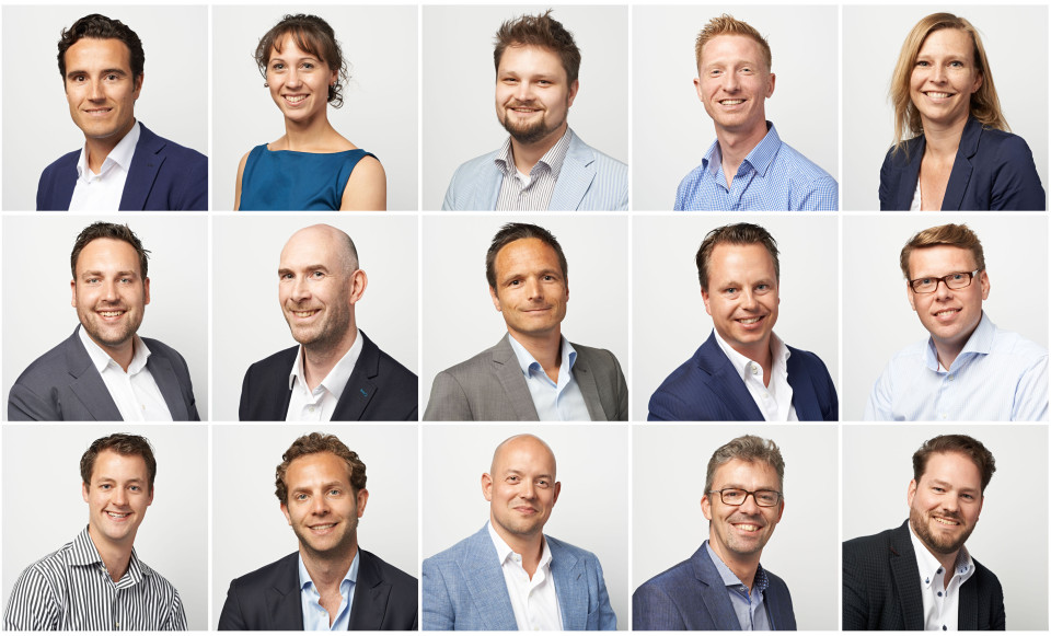 Profiel foto's voor LinkedIn werknemers en relaties